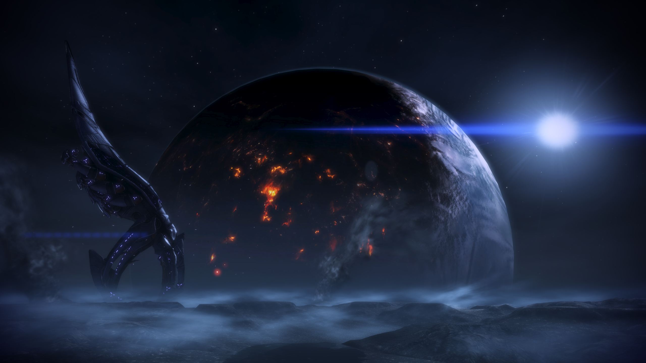 mass effect 3 full hd wallpaper and background 2560x1440