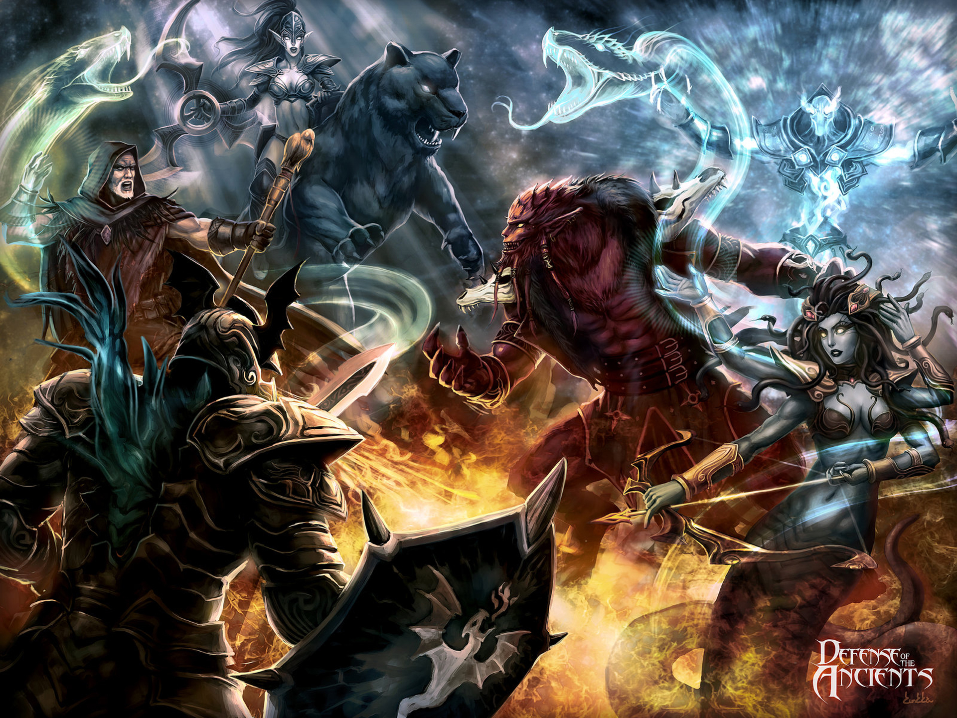 Alpha Coders | Wallpaper Abyss Video Game Dota 234896