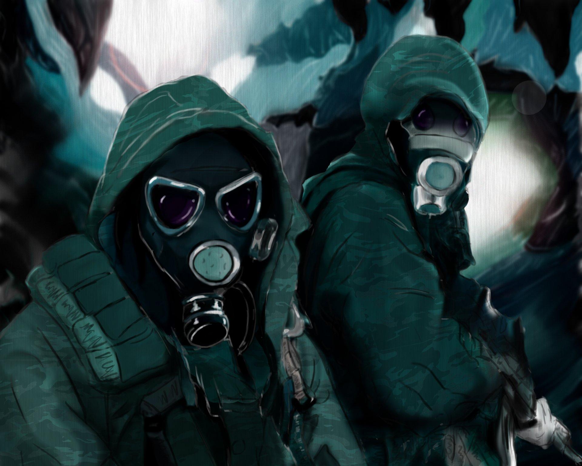 gas mask fondos de - photo #7