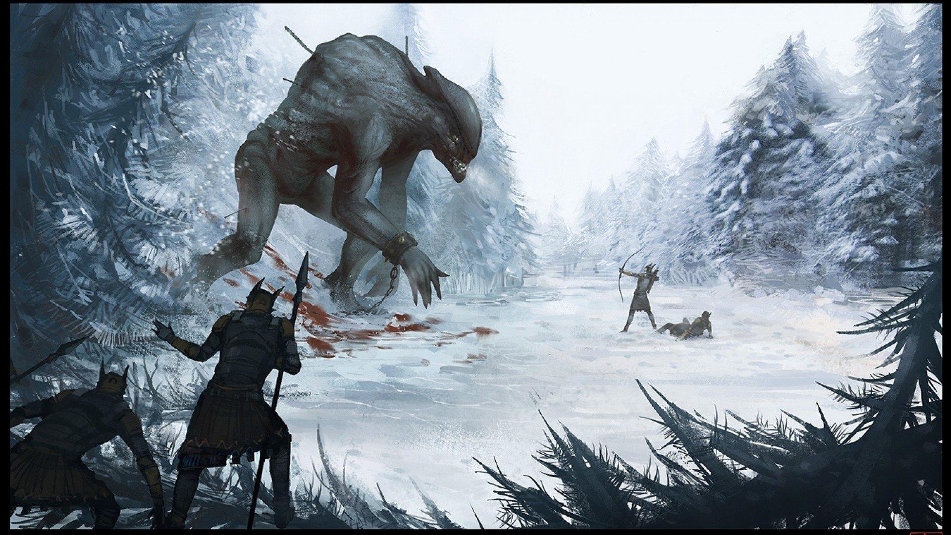 Fantasía - Batalla  The Hunt Fondo de Pantalla