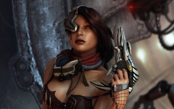 Sci Fi - Women Warrior Wallpapers and Backgrounds ID : 235326