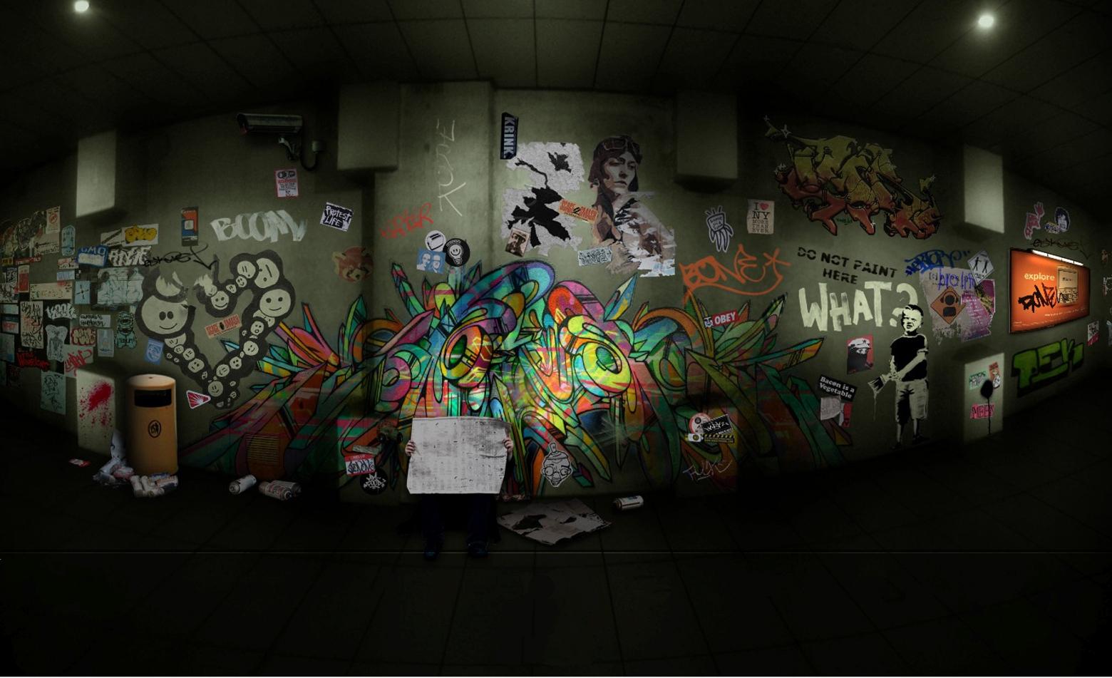 Graffiti Fondo de Pantalla and Fondo de Escritorio