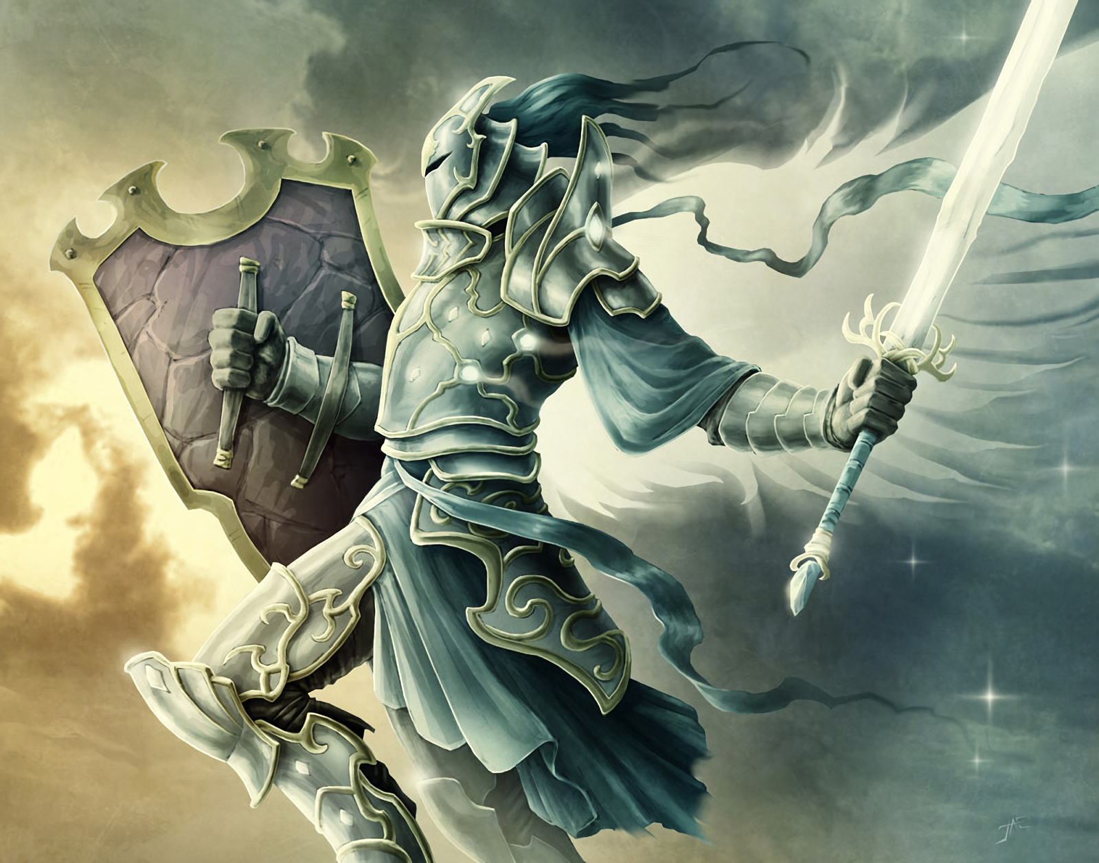 Warrior Of God Wallpaper And Background Image 1600x1257 Id