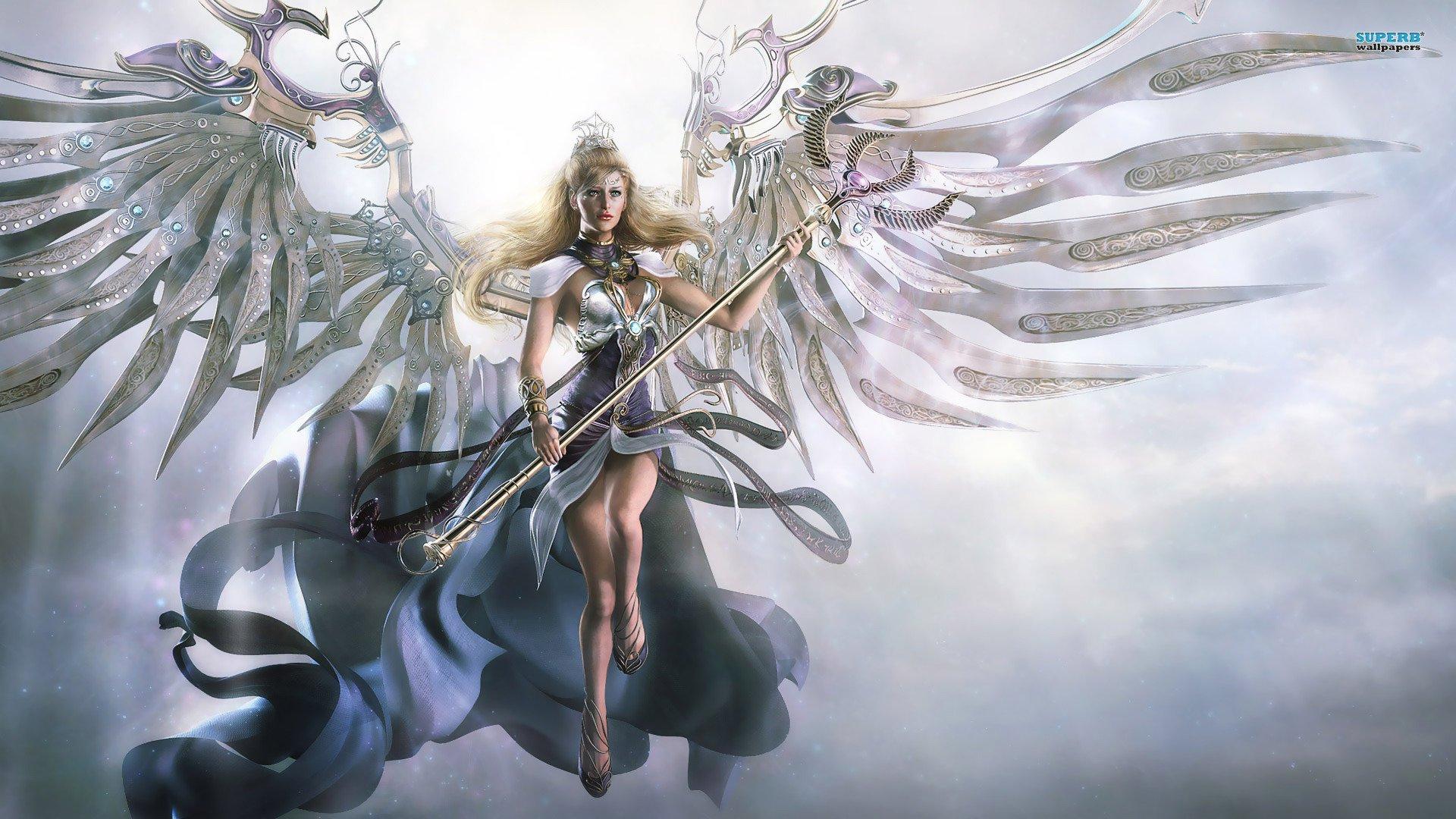 Angel warrior hd wallpaper background image 1920x1080 - Angel girl wallpaper ...