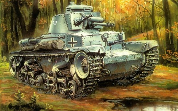 Military Panzer 38(t) Tanks HD Wallpaper | Background Image