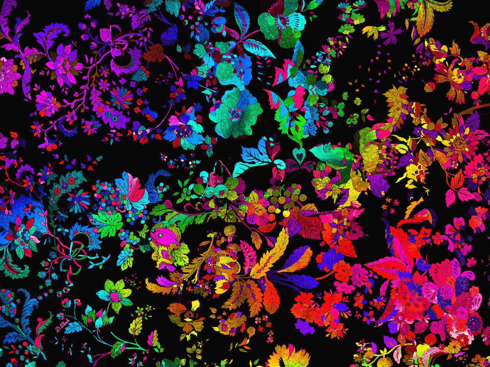 Psychedelic Wallpaper And Background Image 1600x1200