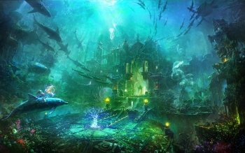 Fantasy - City Wallpapers and Backgrounds ID : 240718