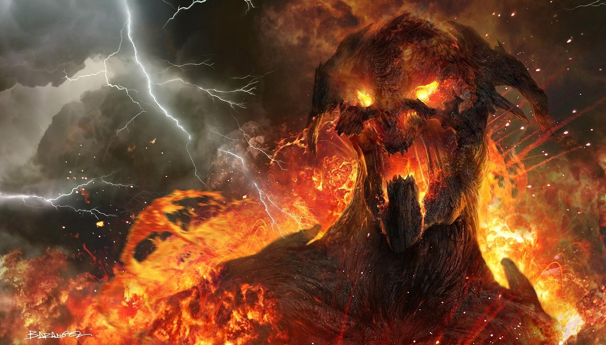 Wrath Of The Titans Monsters Demon Full HD Wallpape...