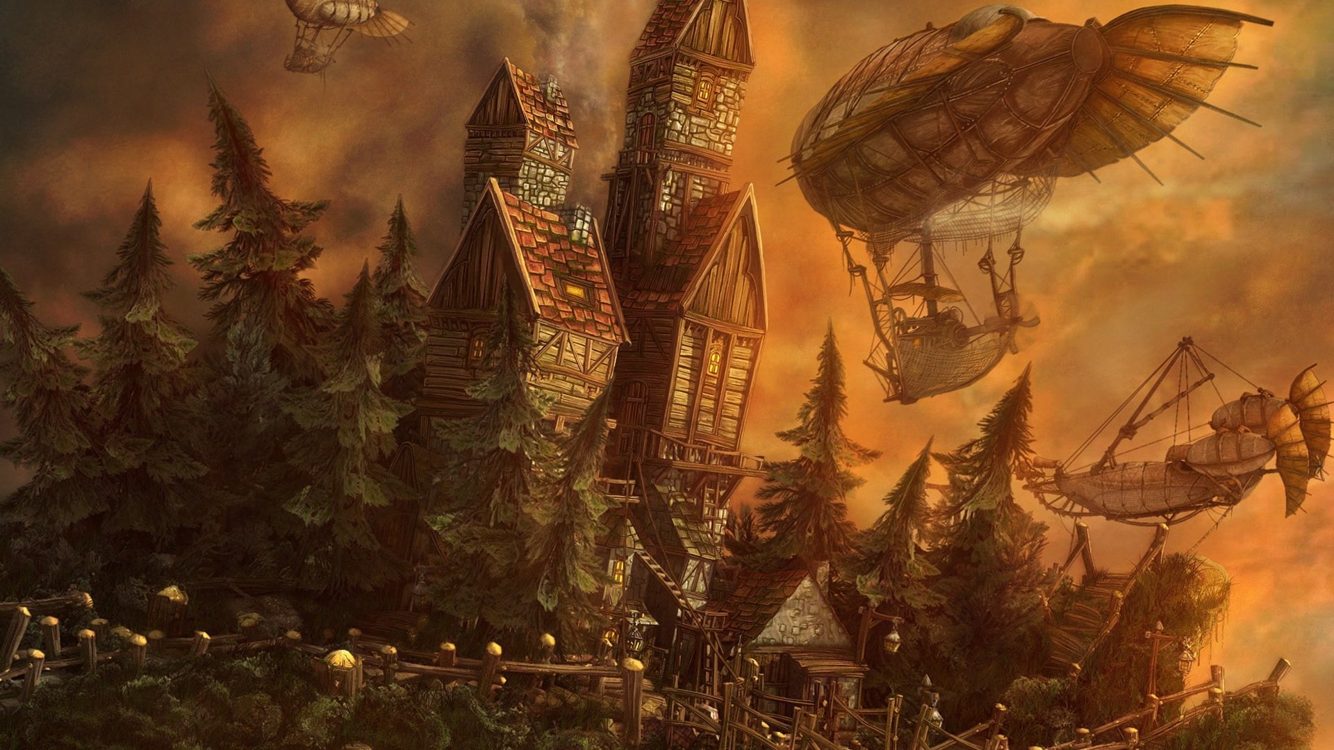 325 Steampunk Hd Wallpapers Background Images Wallpaper Abyss Page 7