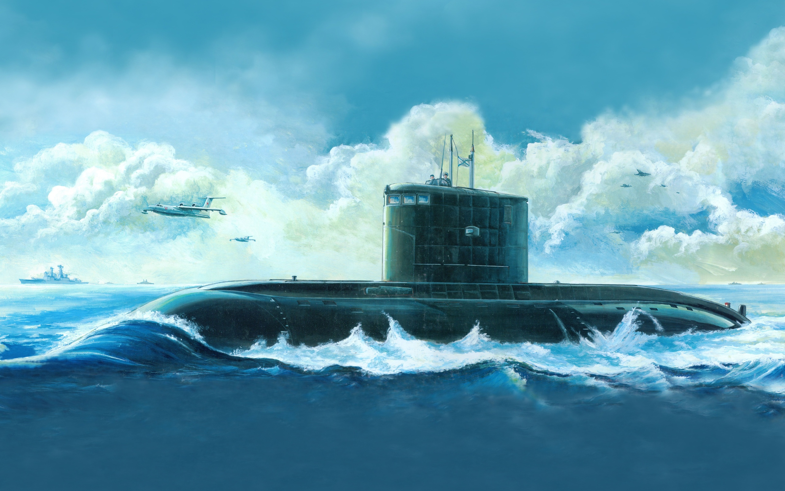 Submarine Full HD Wallpaper and Background | 2560x1600