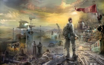 Sci Fi - Post Apocalyptic Wallpapers and Backgrounds ID : 242408