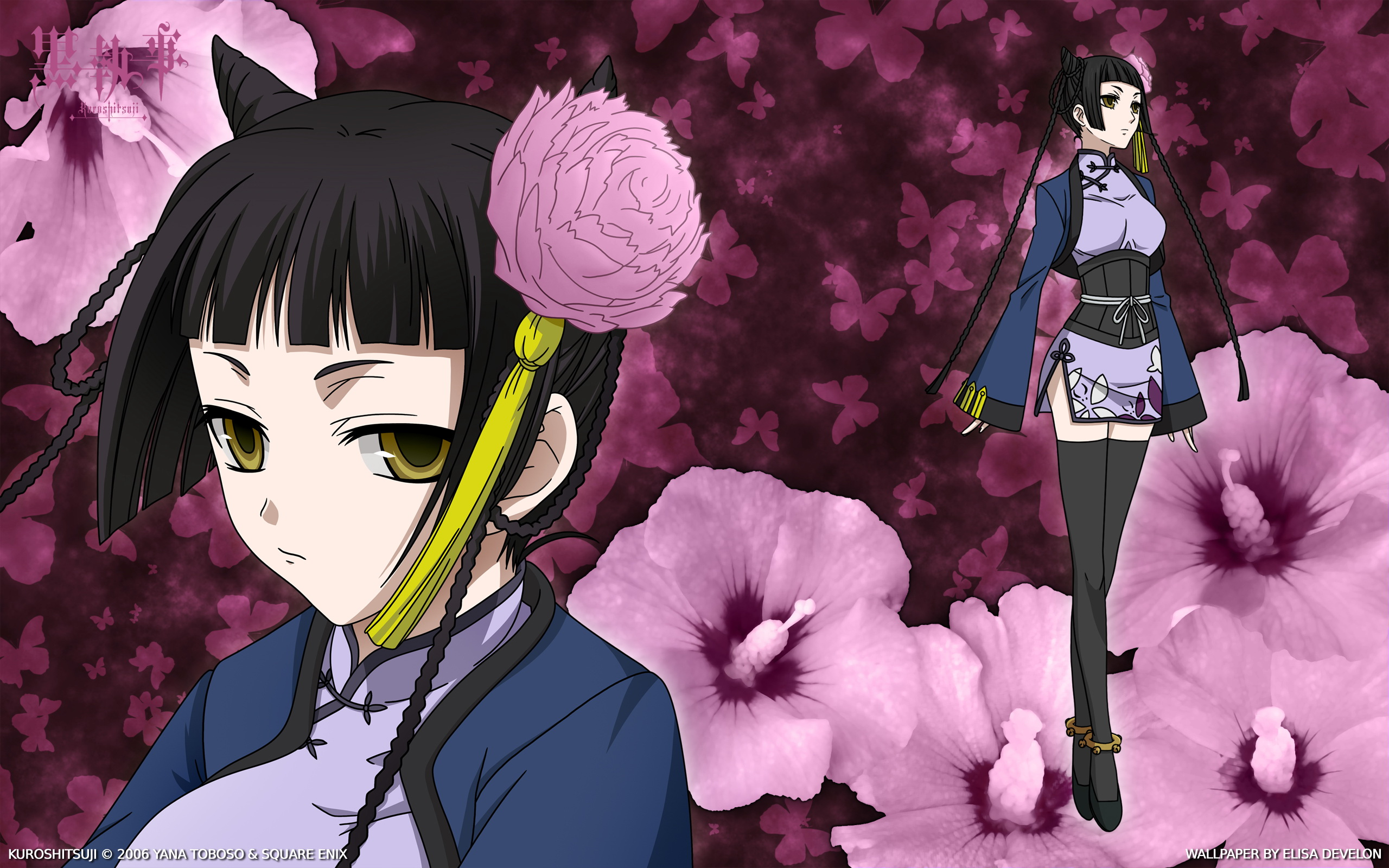 black butler full hd wallpaper and background image