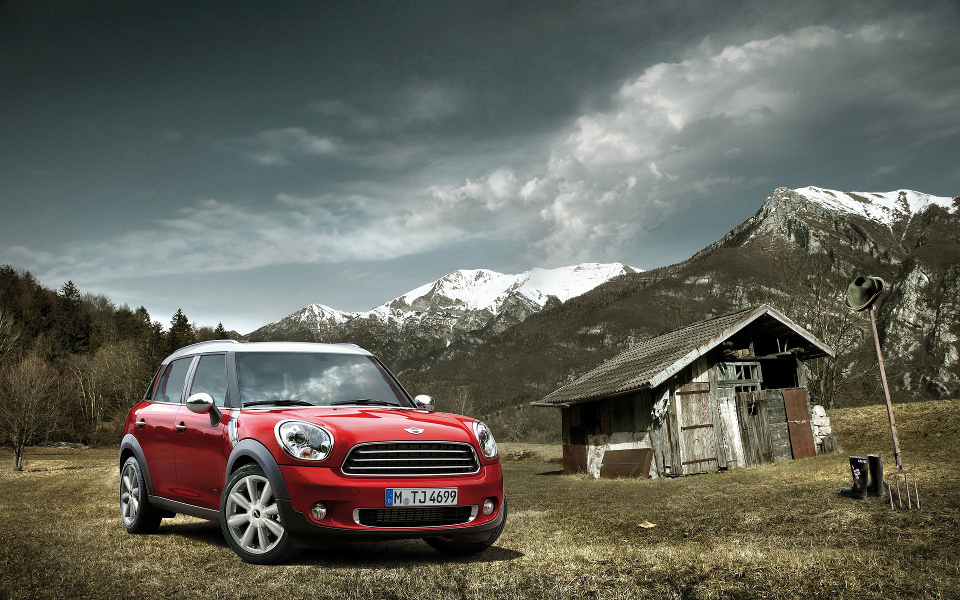 mini countryman full hd wallpaper and background image