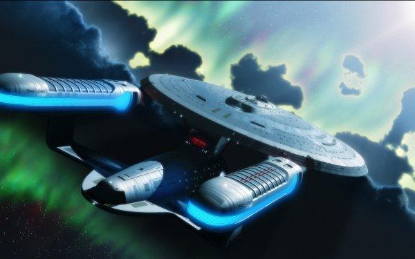 Sci Fi Star Trek Enterprise Starship Spaceship HD Wallpaper | Background Image