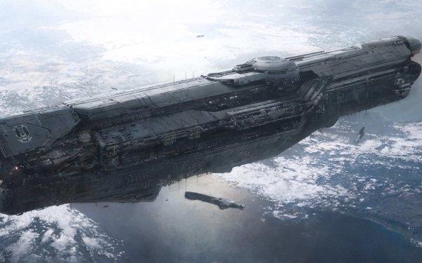 Jeux Vidéo Halo UNSC Infinity Fond d'écran HD   Arrière-Plan