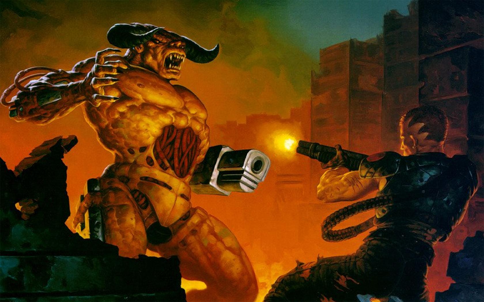 Doom tapet og baggrundsbillede 1680X1050 Id246096-8764
