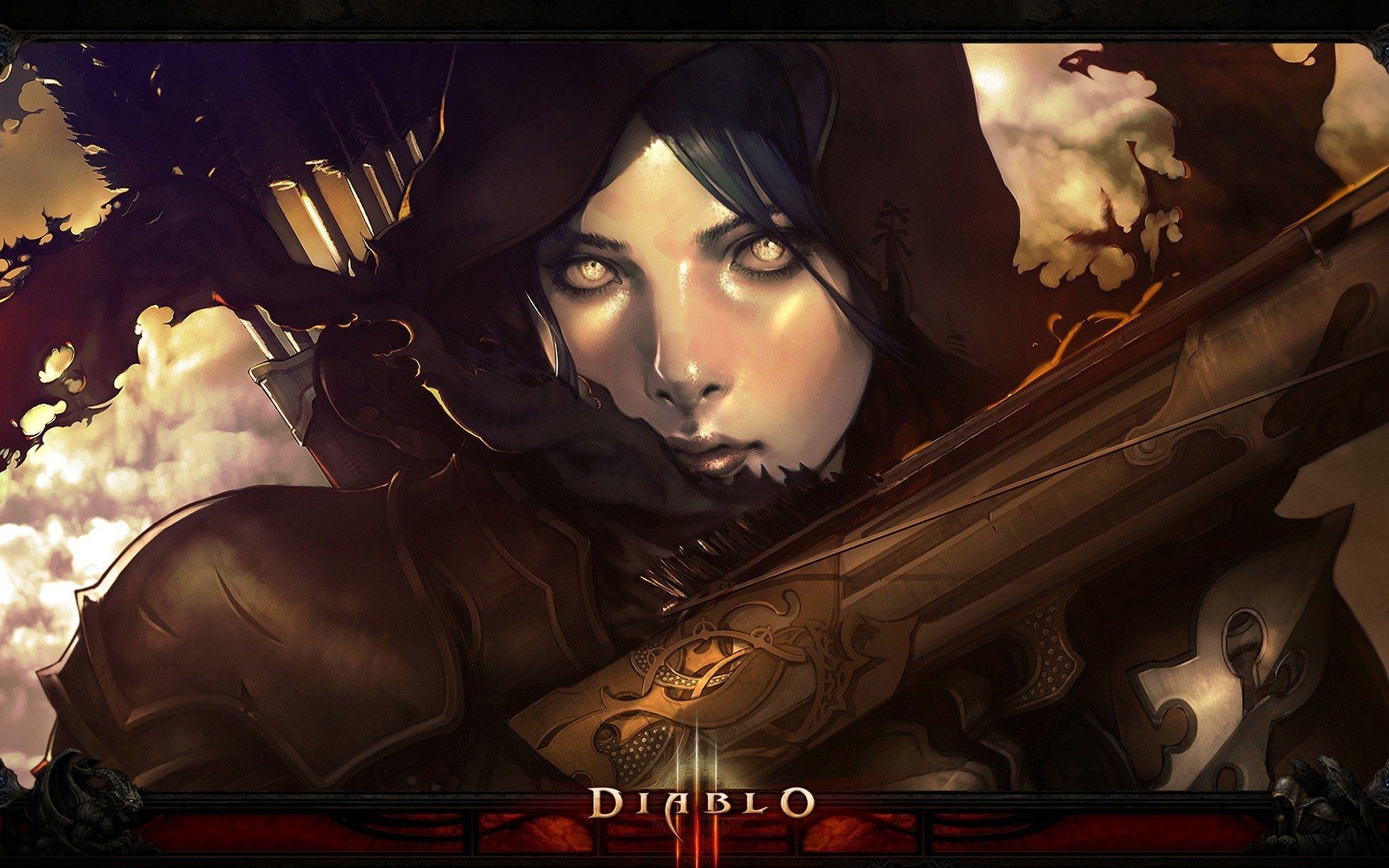 120 Demon Hunter Diablo Iii Hd Wallpapers Background Images
