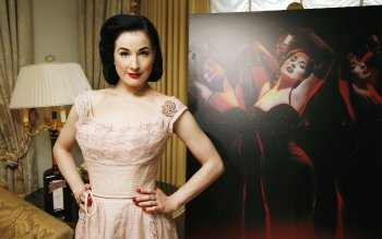 Beroemdheden - Dita Von Teese Wallpapers and Backgrounds ID : 246418