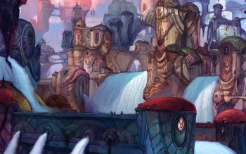 Fantasy - Großstadt Wallpapers and Backgrounds ID : 24688