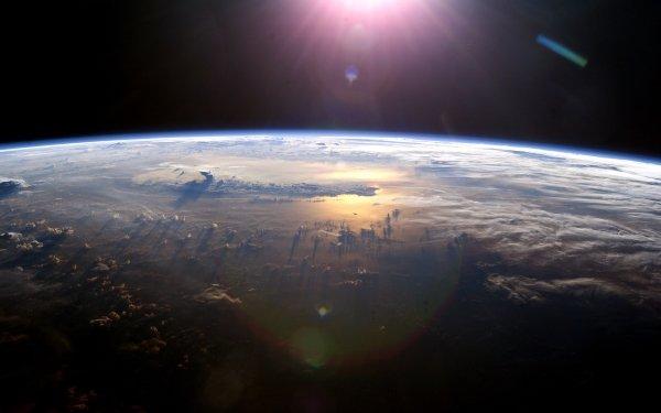 Ciencia ficción Planeta Espacio Tierra Fondo de pantalla HD | Fondo de Escritorio
