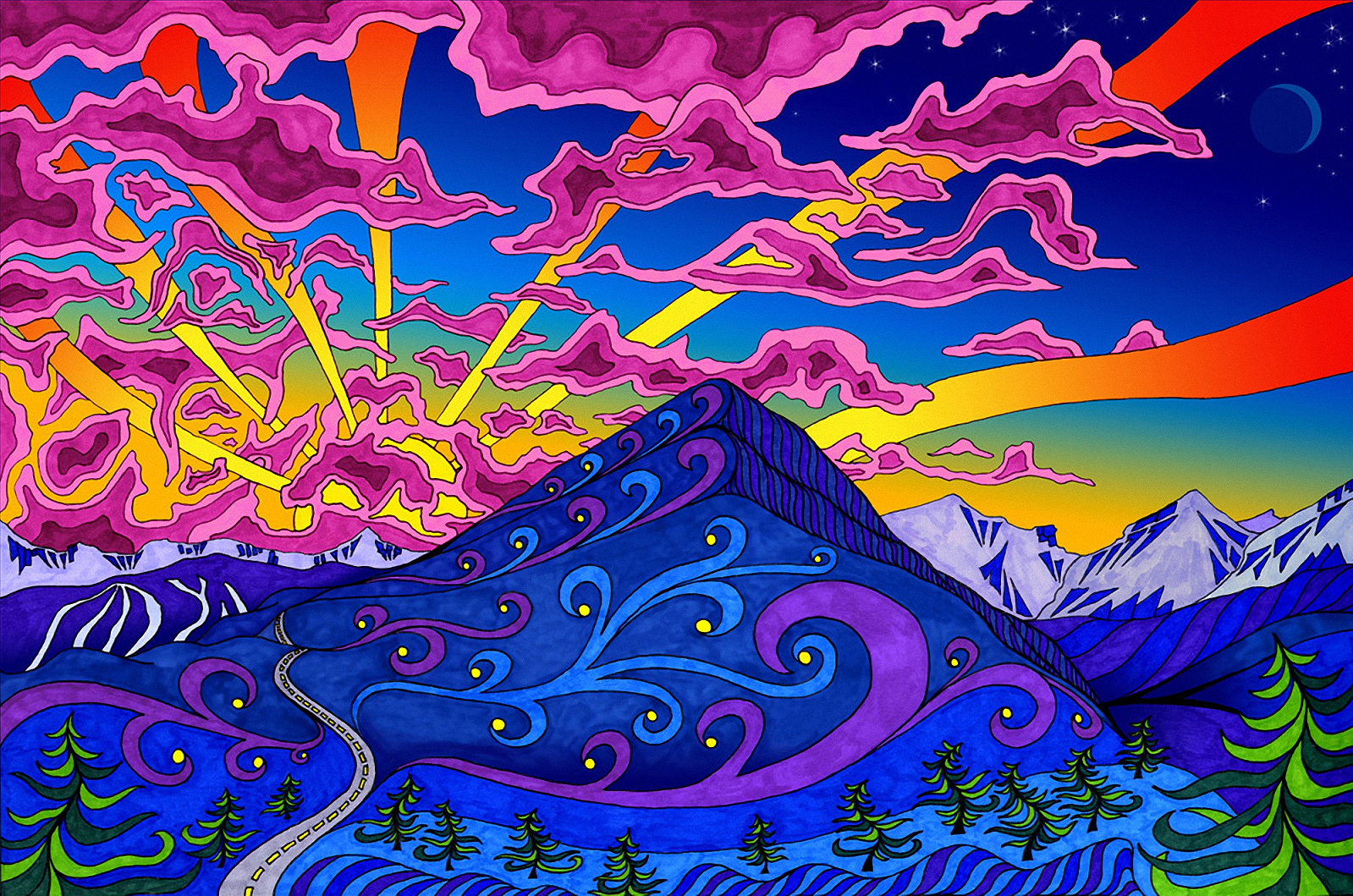 Psychedelic Wallpaper | Wallpapers HD Quality