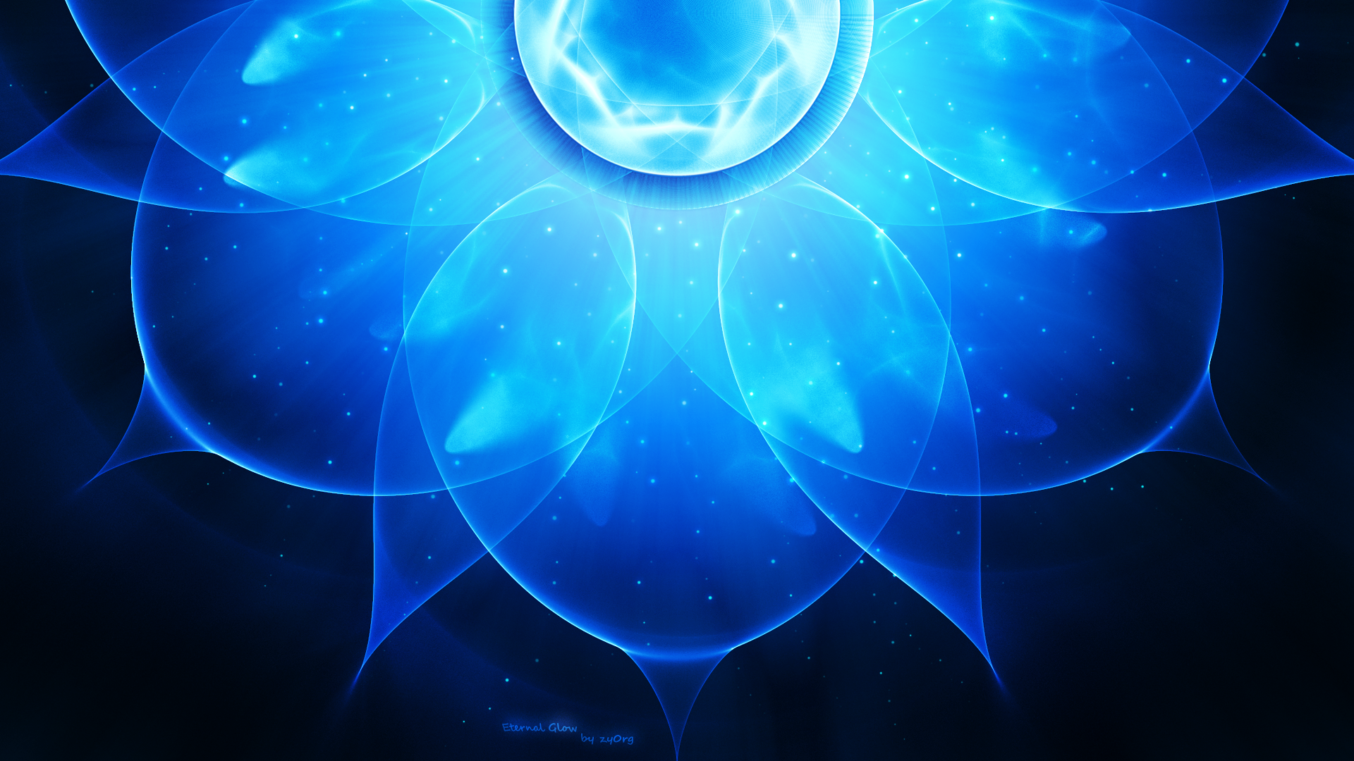 blue abstract wallpaper by - photo #16