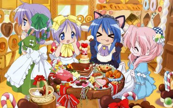 Anime - Lucky Star Wallpapers and Backgrounds ID : 247194