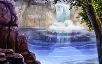 Terra - Cascate Wallpapers and Backgrounds ID : 247524