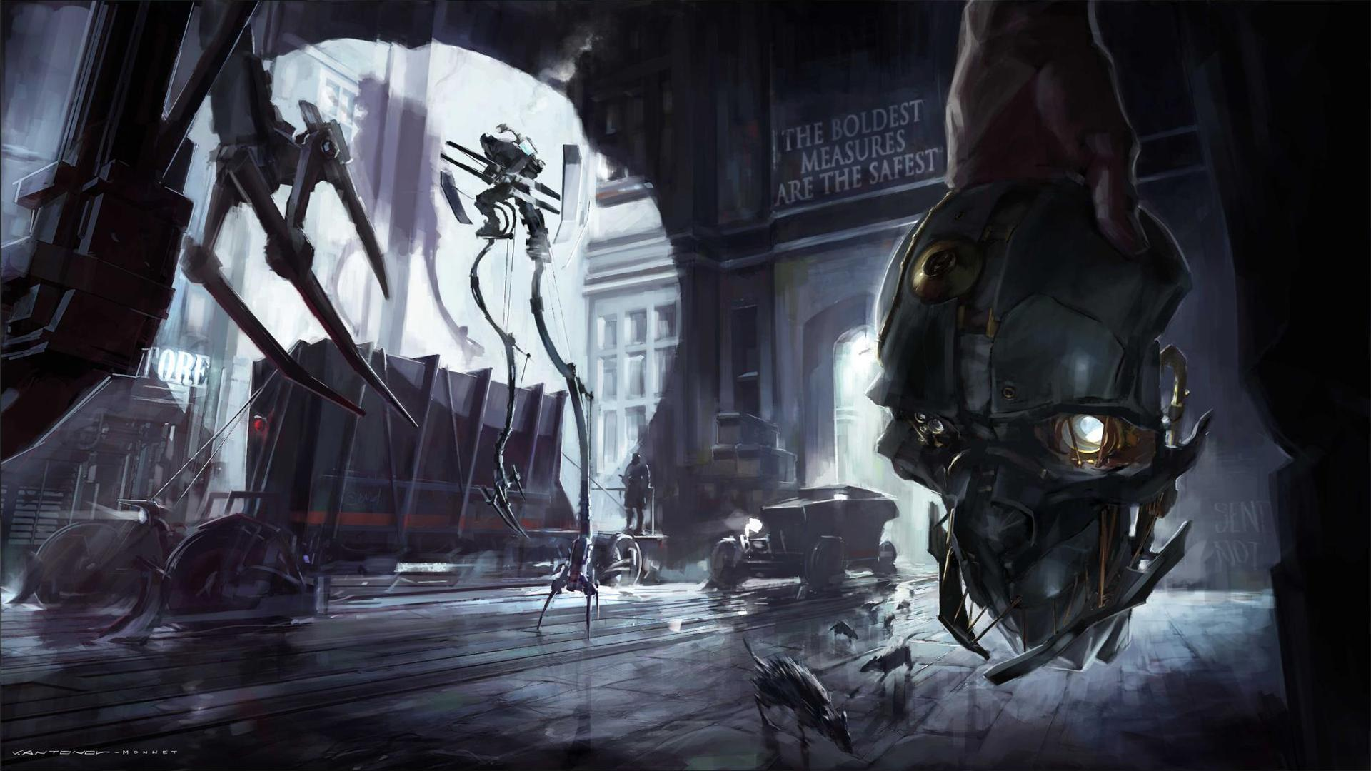 Dishonored Wallpaper 4k: 80 Dishonored HD Wallpapers