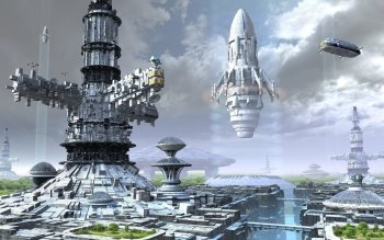 Sci Fi - Spaceport Wallpapers and Backgrounds ID : 248006