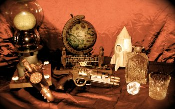 Science-Fiction - Steampunk Wallpapers and Backgrounds ID : 248328