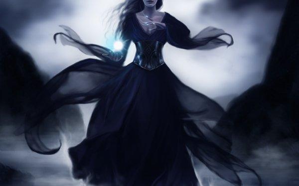 Sombre Sorcière Magicienne Fond d'écran HD | Image