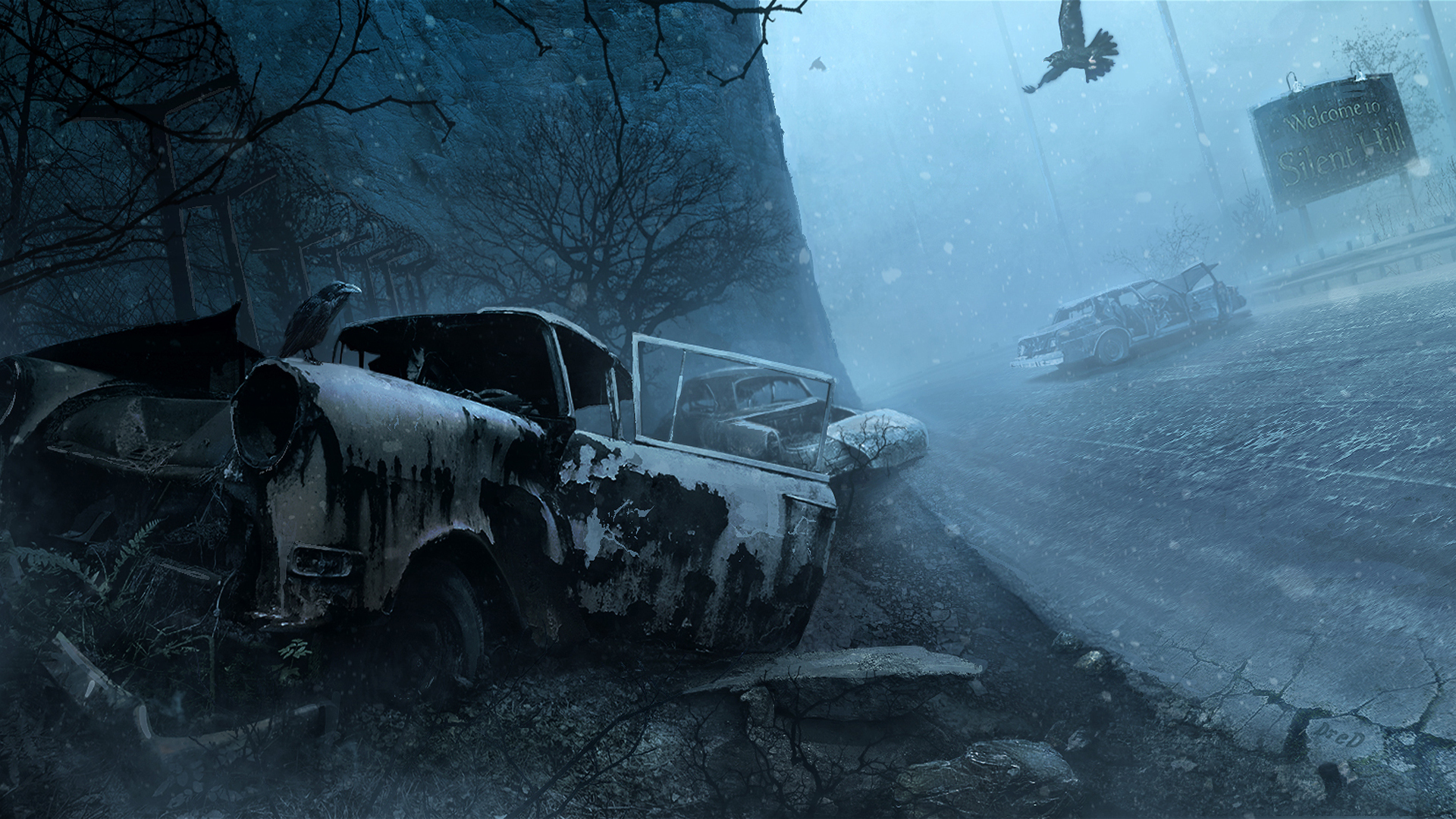 Silent Hill HD Wallpaper   Background Image   1920x1080 ...