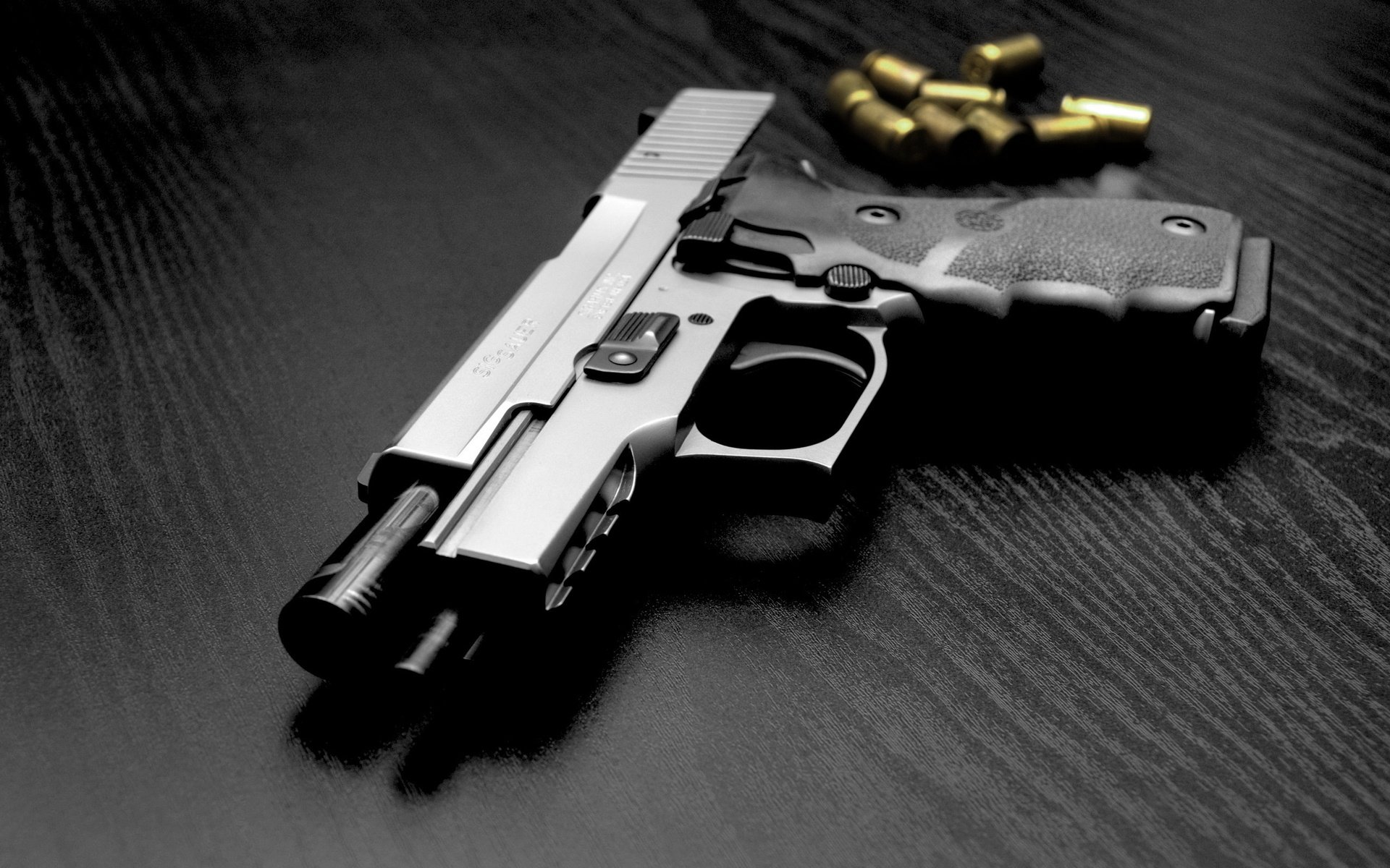 Sig Sauer Pistol Full HD Wallpaper And Background Image