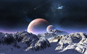 Sci Fi - Planet Rise Wallpapers and Backgrounds ID : 249536