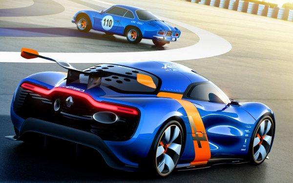 Vehicles Alpine A110-50 Renault Renault Alpine Sport Concept Car HD Wallpaper | Background Image