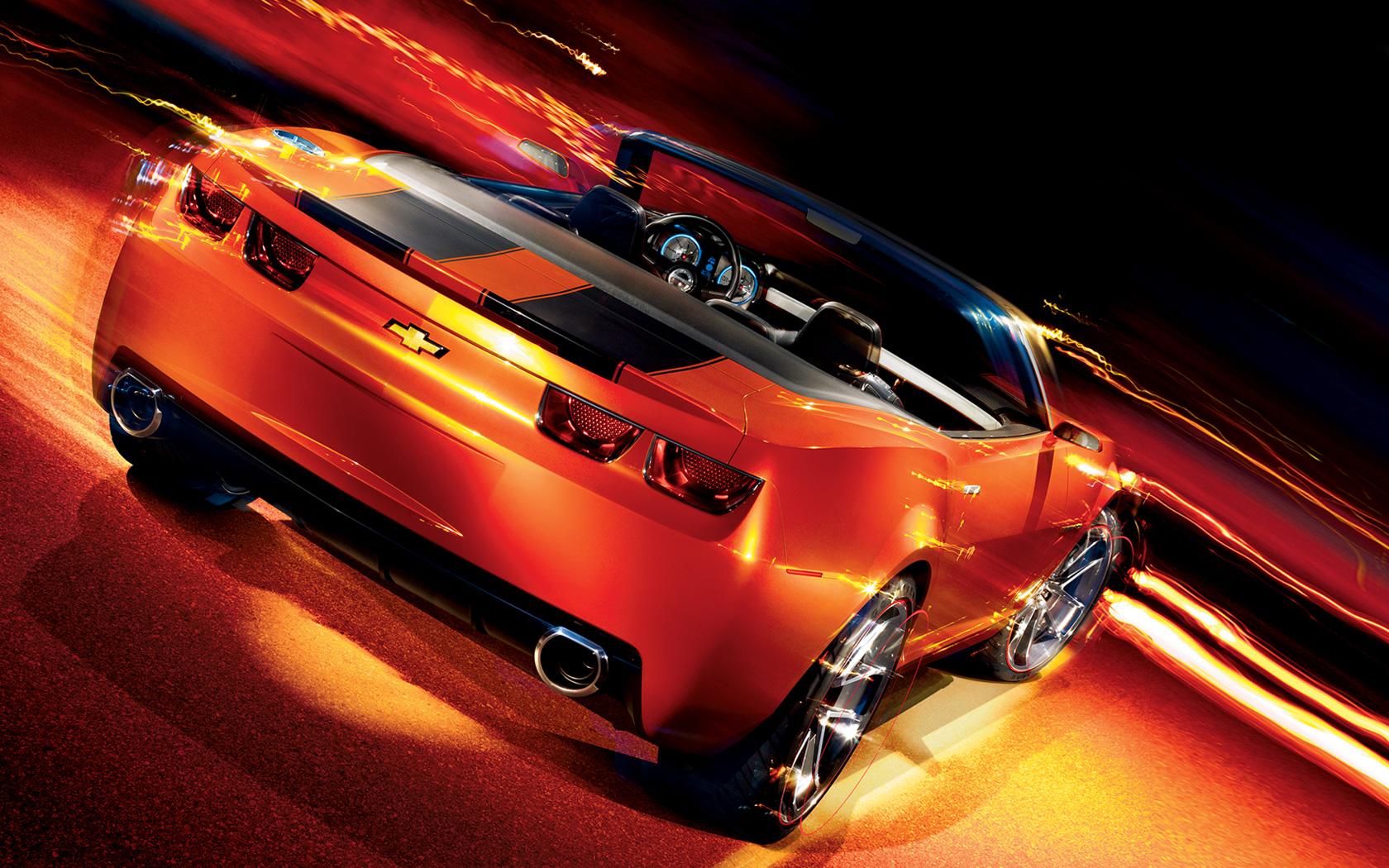 Fahrzeuge - Chevrolet Camaro  Audi Hintergrundbild