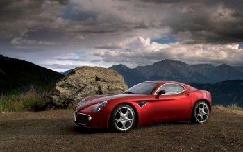 Vehicles - Alfa Romeo 8C Competizione Wallpapers and Backgrounds ID : 250064