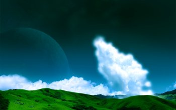 Sci Fi - Planet Rise Wallpapers and Backgrounds ID : 25076