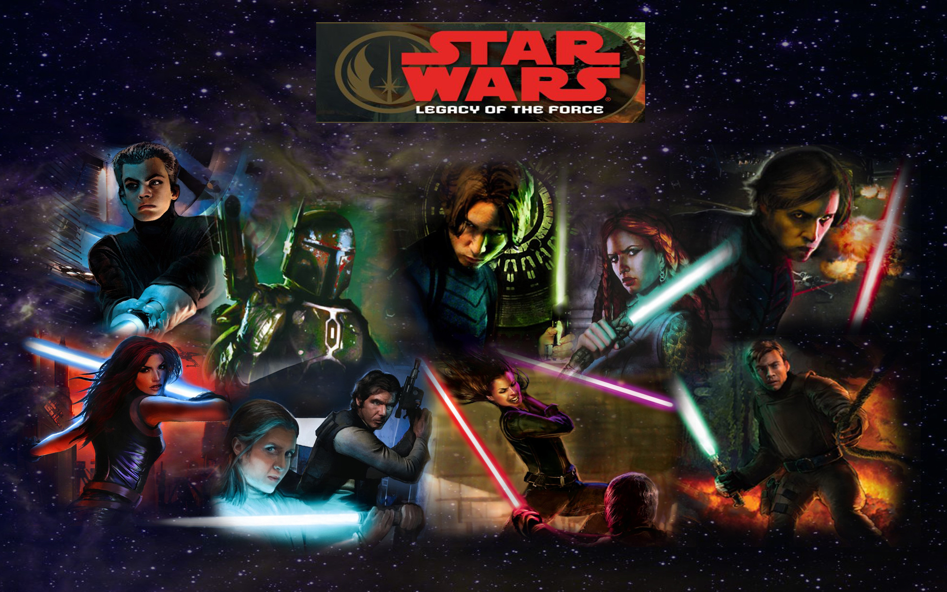 Star Wars Legacy Of The Force Hd Wallpaper Background Image 1920x1200 Id 251714 Wallpaper Abyss