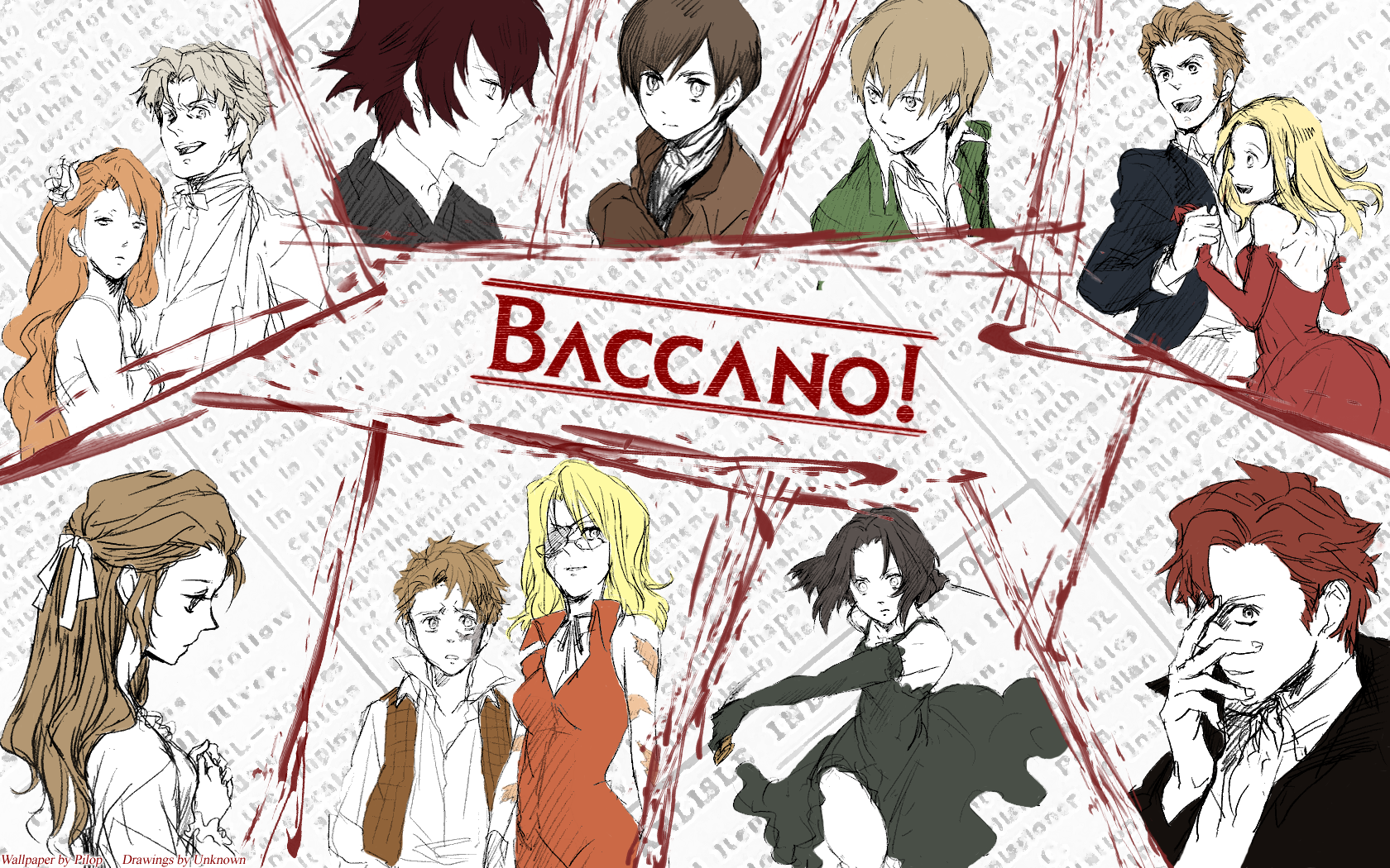 45 Baccano! HD Wallpapers | Backgrounds - Wallpaper Abyss