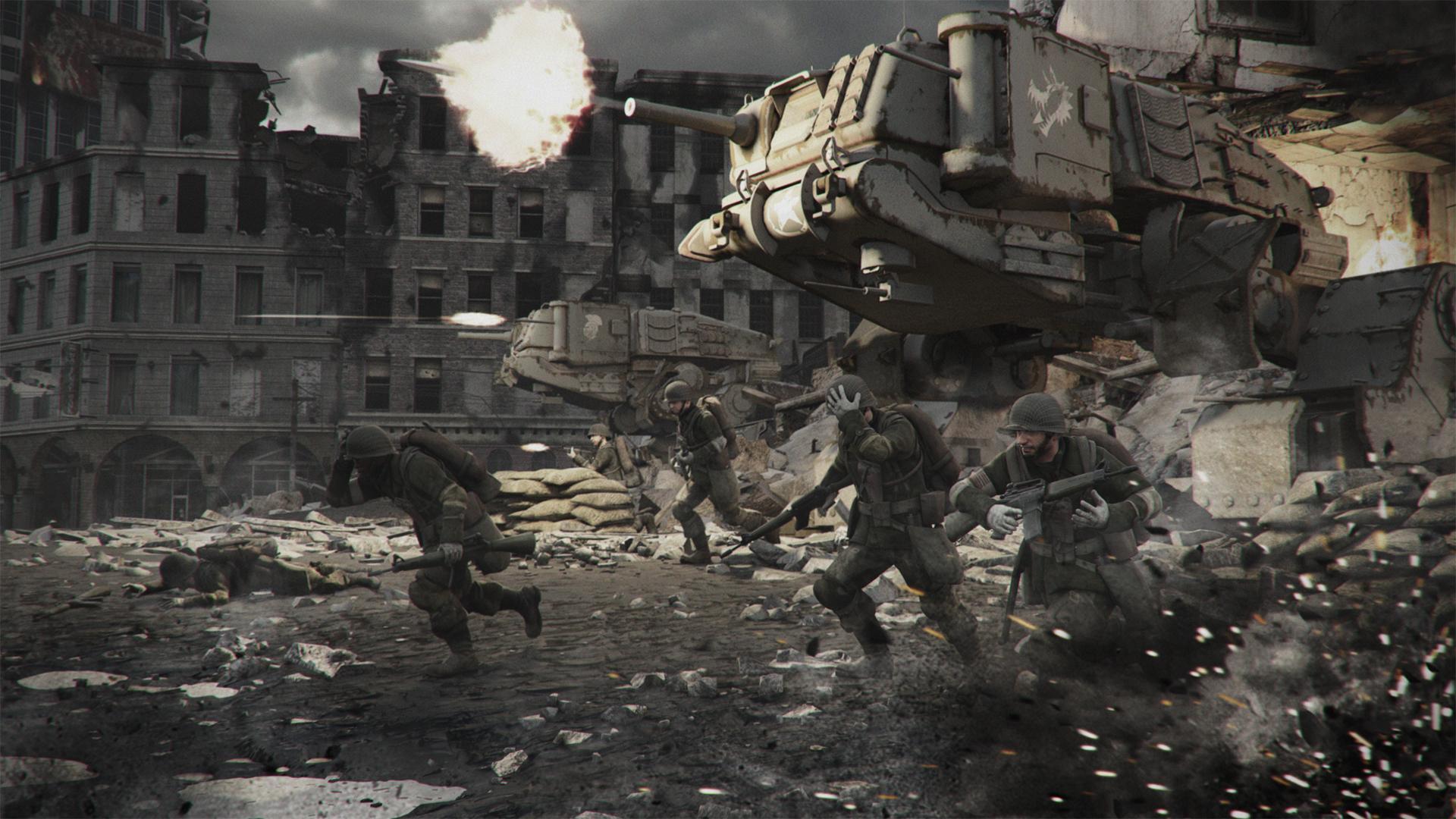 Battle Scene Wallpaper