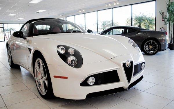 Vehicles Alfa Romeo 8C Spider Alfa Romeo HD Wallpaper   Background Image