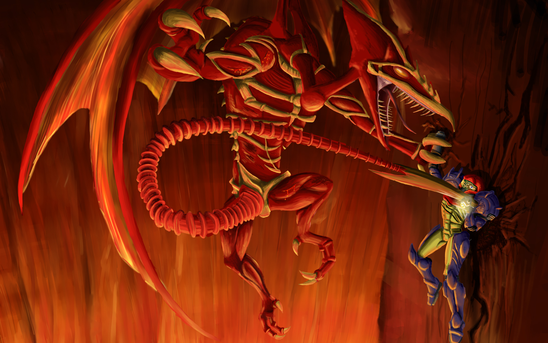 Metroid Full HD Wallpaper And Background Image