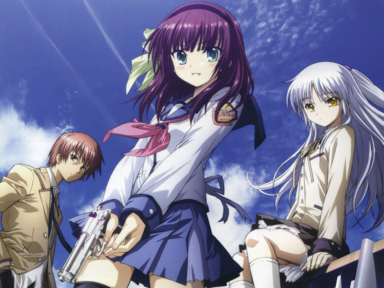 Angel Beats! Wallpaper and Background Image   1600x1200 ...