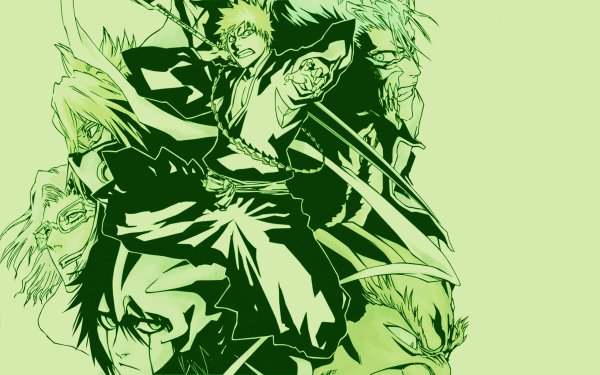 Anime Bleach Ichigo Kurosaki Tier Halibel Grimmjow Jaegerjaquez Szayelaporro Granz Yammy Llargo HD Wallpaper   Background Image