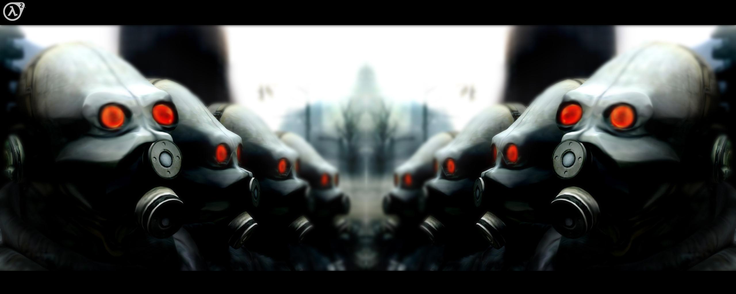Multi Monitor - Videospiel  Halflife Life Half Wallpaper