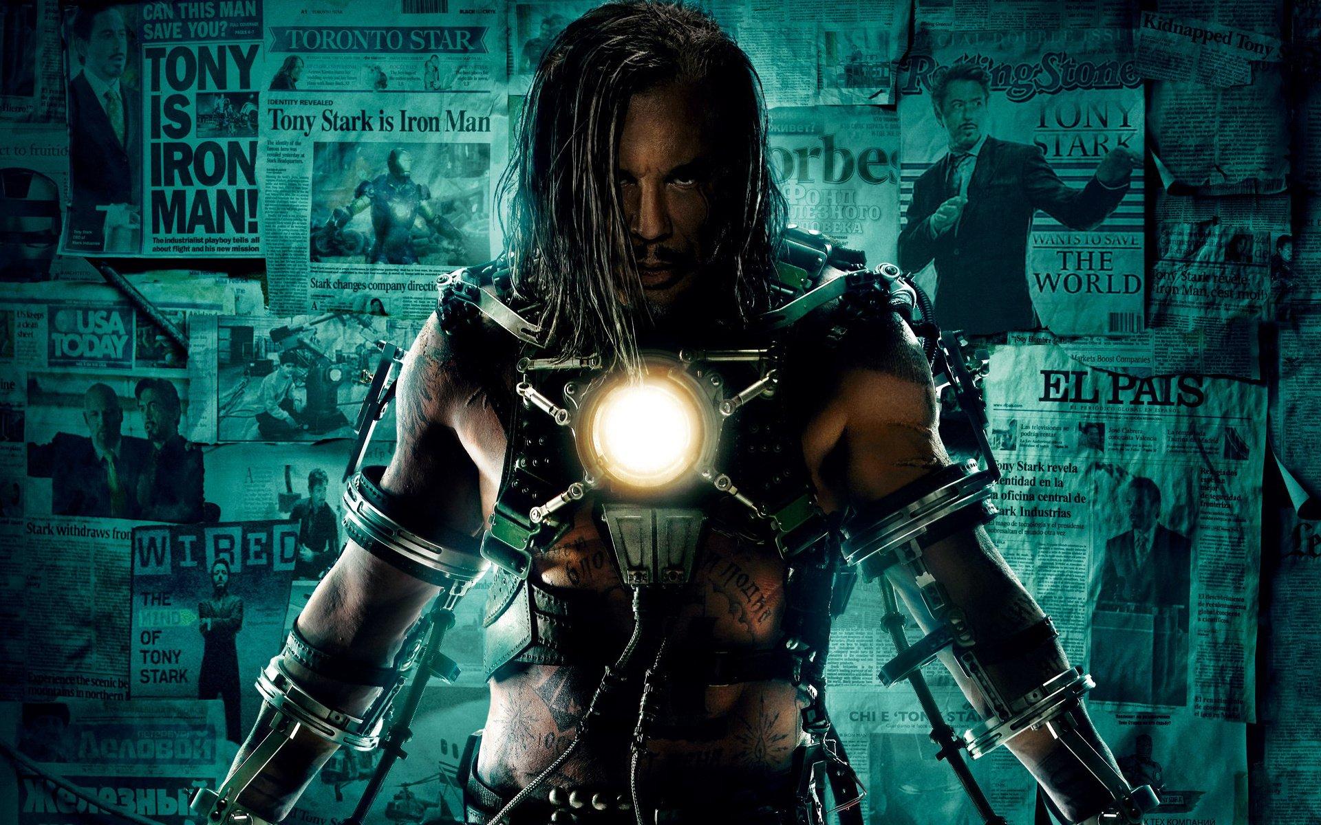 Iron Man 2 Black Background Movies Wallpaper: Iron Man 2 Full HD Wallpaper And Background Image