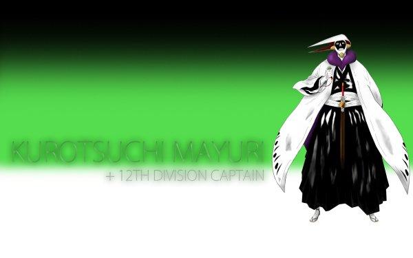 Anime Bleach Mayuri Kurotsuchi HD Wallpaper | Background Image