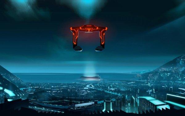 TV Show Tron: Uprising Tron City Sci Fi Futuristic HD Wallpaper   Background Image
